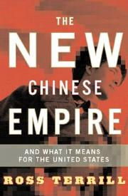 Cover of: The New Chinese Empire