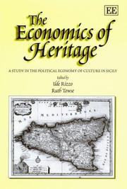 Cover of: The Economics of Heritage |