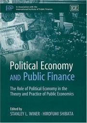 Cover of: Political Economy and Public Finance |