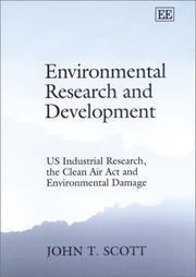 Cover of: Environmental Research and Development