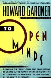 Cover of: To Open Minds