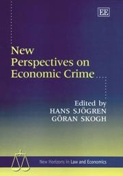 Cover of: New Perspectives on Economic Crime (New Horizons in Law and Economics) |