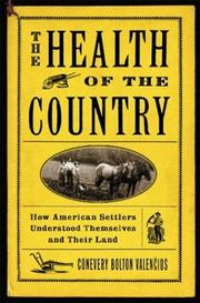 Cover of: The Health of the Country | Conevery Bolton Valencius