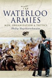 Cover of: WATERLOO ARMIES, THE