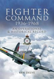 Cover of: RAF FIGHTER COMMAND 1936 - 1968
