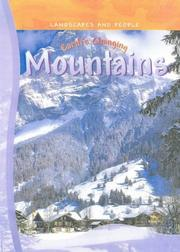Cover of: Earth's Changing Mountains (Landscapes & People)