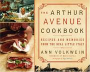 Cover of: The Arthur Avenue Cookbook | Ann Volkwein