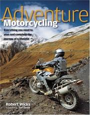 Cover of: Adventure Motorcycling | Robert Wicks
