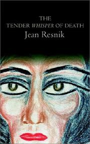 Cover of: The Tender Whisper of Death | Jean Resnik