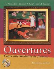 Cover of: Ouvertures | H. Jay Siskin