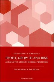 Cover of: Profit, Growth and Risk