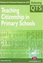 Cover of: Teaching Citizenship In Primary Schools (Achieving Qts)