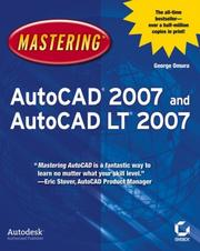 Cover of: Mastering AutoCAD 2007 and AutoCAD LT 2007 (Mastering)