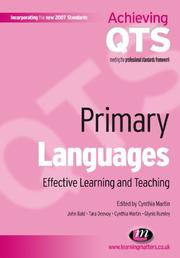 Cover of: Primary Languages