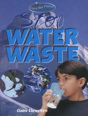 Cover of: Stop Water Waste (Save the Planet)