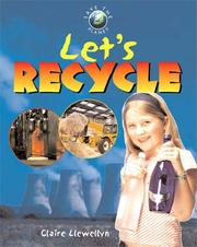 Cover of: Lets Recycle (Save the Planet)