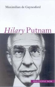 Hilary Putnam (Philosophy Now) by Maximilian De Gaynesford
