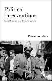 Cover of: Political Interventions