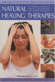 Cover of: Natural Healing Therapies