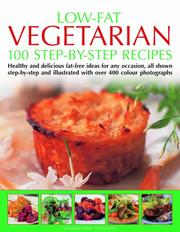 Cover of: 100 Low-Fat Vegetarian Recipes | Anne Sheasby