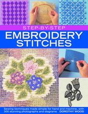 Cover of: Step-by-Step Embroidery Stitches