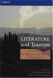 Cover of: Literature and Tourism | Mike Robinson
