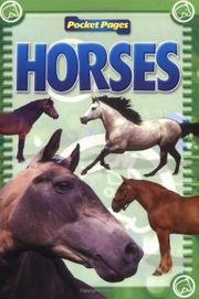 Cover of: Horses | Jim Channel