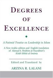 Cover of: Degrees of Excellence | Arzina R. Lalani