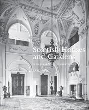 Cover of: Scottish Houses and Gardens | Ian Gow