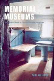 Cover of: Memorial Museums