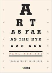 Cover of: Art as Far as the Eye Can See