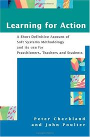 Cover of: Learning for action