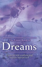 Cover of: The Giant Book of Dreams | Timothy Wright