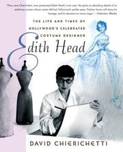 Cover of: Edith Head | David Chierichetti