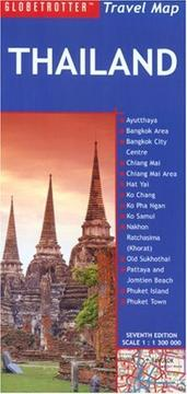Cover of: Thailand Travel Map