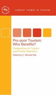 Cover of: Pro-poor Tourism:  Who Benefits? | C Michael Hall