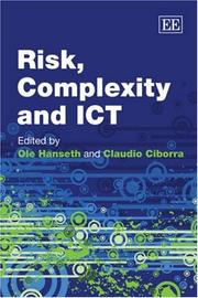 Cover of: Risk, complexity, and ICT