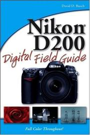 Cover of: Nikon D200 Digital Field Guide