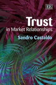 Cover of: Trust In Market Relationships