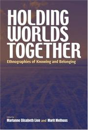 Cover of: Holding Worlds Together |