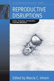 Cover of: Reproductive Disruptions | Marcia C. Inhorn