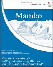 Cover of: Mambo | Ric Shreves