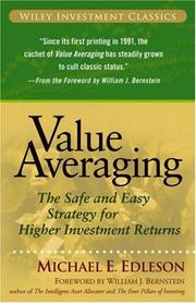 Value averaging by Michael E. Edleson
