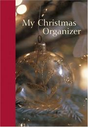 Cover of: My Christmas Organizer (Interactive Journal) | Rps