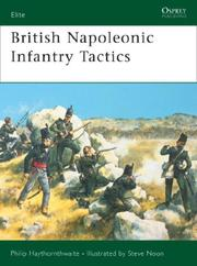 Cover of: British Napoleonic Infantry Tactics