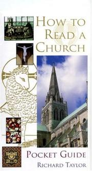 Cover of: Pocket Guide to How to Read a Church