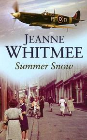Cover of: Summer Snow | Jeanne Whitmee