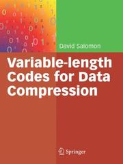 Cover of: Variable-length Codes for Data Compression