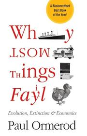 Cover of: Why most things fail