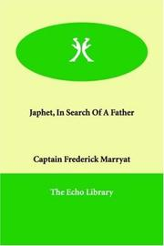 Cover of: Japhet in Search of a Father